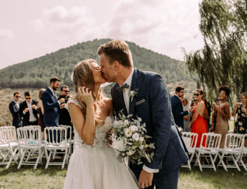 Finca wedding in September on Mallorca: a mix of love, joy and rain of happiness