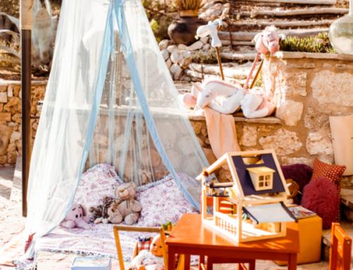 Kinderbetreuung auf einer Mallorca Hochzeit